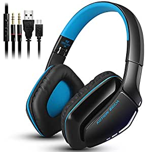 KOTION EACH B3506 Wireless Headset für Handy-Tablette PC Mp4 PS4, V4.1 Bluetooth Hifi Bass Stereo-Kopfhörer mit eingebautem Mikrofon