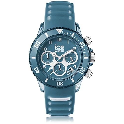 ICE-Watch Aqua Man Stopwatch Watch with Blue Dial Analogue Display - 12737