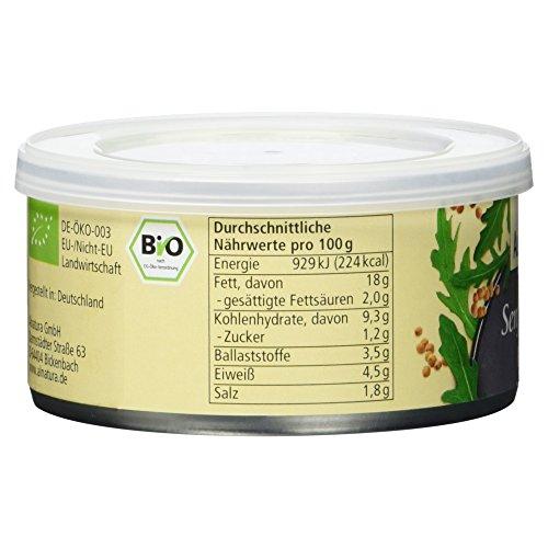 Alnatura Bio Pastete Senf-Rucola, vegan, 6er Pack (6 x 125 g) - 5