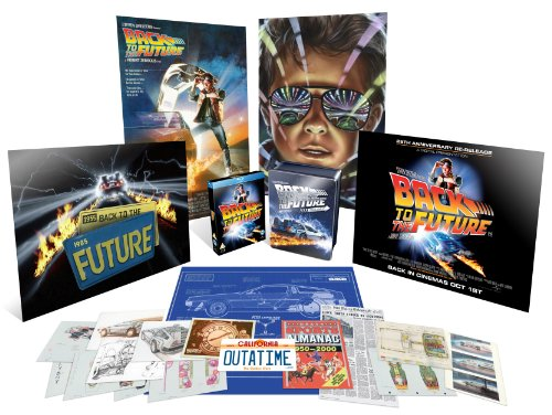 Click for larger image of Back to the Future Trilogy Limited Edition Collector's Tin [Blu-ray]