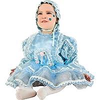 6a5613d0308e COSTUME di CARNEVALE da DOLCE LULU' CIELO vestito per neonata bambina 0-3  Anni