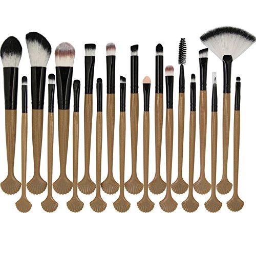 MAANGE 20pcs Set/Kit Maquillage Cosmétique Professionnel Cosmétique Brush Beauté Maquillage Brosse Makeup Brushes Cosmétique Fondation Noir + Or Rose