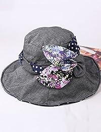 Beach Sun Hat Summer Big Eaves Sunscreen Anti-UV Fisherman Hat Folding Sun Hat Soft and comfort