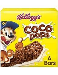 Kellogg's Coco Pops Cereal & Milk Bars, 120 grams