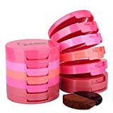#5: Music Flower 5 Color Face Blusher Powder with Brush