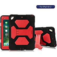 iPad Air 2caso, ACEGUARDER iPad air 2/iPad 6Pantalla de Cuerpo Entero para niños regalo Smart resistente [colores] carcasa con resistente [a prueba de golpes] [Dropproof] función Tablet kiskstand duro para iPad Aire 2