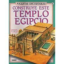 Construye este templo egipcio (Maquetas Recortables)