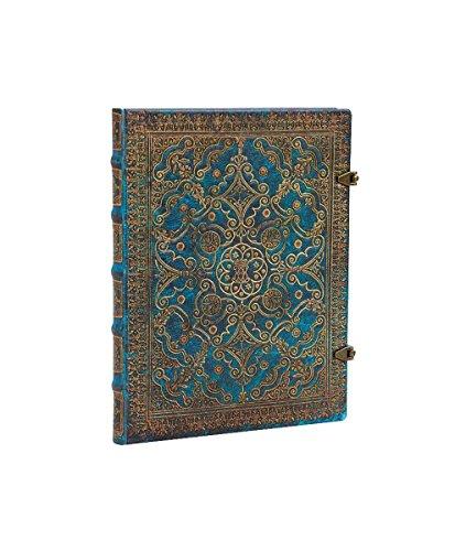 Paperblanks Equinoxe Azurblau Notizbuch Ultra Liniert - Extra Breiter Falt -