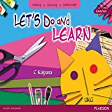 Let's Do and Learn : Art & Craft Book by Pearson for UKG