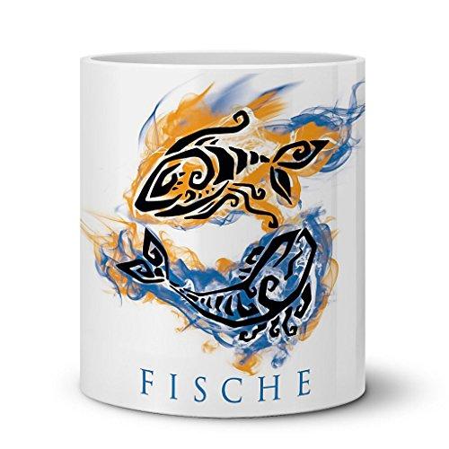 51jqxuwpOFL Sternzeichen Fische Kaffeetasse Becher Tasse