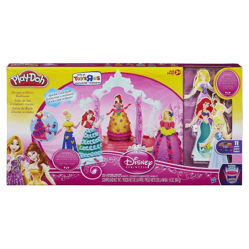 Hasbro Play Doh Disney Princess Design a Dress Ballroom