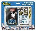 Raving Rabbids 11pc 3D Protection Set (Nintendo 3DS/DSi/DSi XL) by GameOn