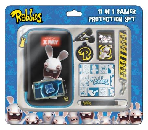 Price comparison product image Raving Rabbids 11pc 3D Protection Set (Nintendo 3DS/DSi/DSi XL)
