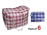 10-6-x-large-strong-laundry-storage-shopping-bag-reusable-store-zip-bags-new
