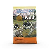 Taste of The Wild Grain Free Premium High Protein Dry Dog Food High prairie Puppy Recipe with Roasted Bison & Roasted Venison 12.7kg