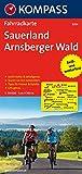 Fahrradkarte Sauerland, Arnsberger Wald : leicht lesbar & detailgenau, Touren vor Ort recherchiert, Tipps für Freizeit & Familie ; GPS-genau  (KOMPASS-Fahrradkarten Deutschland, Band 3054)