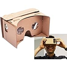 NEW ULTRA CLEAR DIY Google Cardboard Valencia Quality 3D VR Virtual Reality Glasses by EConcept