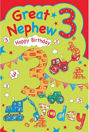 Descargar Pdf Great Nephew 3rd 3 Today Happy Birthday Card With A