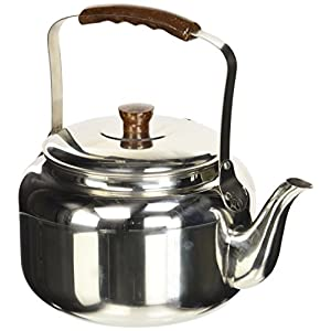 IBILI Kettle, Stainless Steel Silver/Brown, 10 x 10 x 1 cm