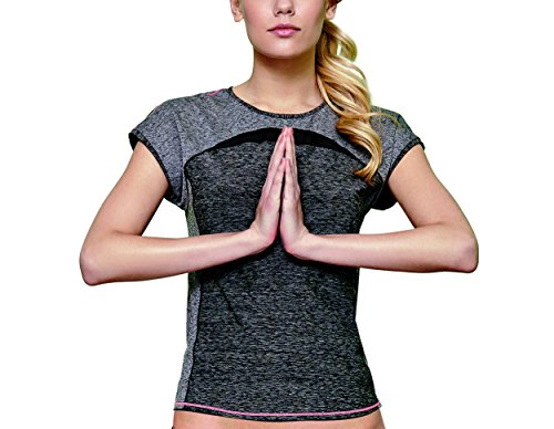 Cheek Damen MISS SPORTY Shirt 63323 Schwarz-Melange