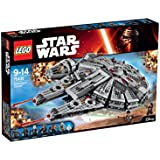 LEGO - 75105 - Star Wars - Jeu de Construction - Millennium Falcon