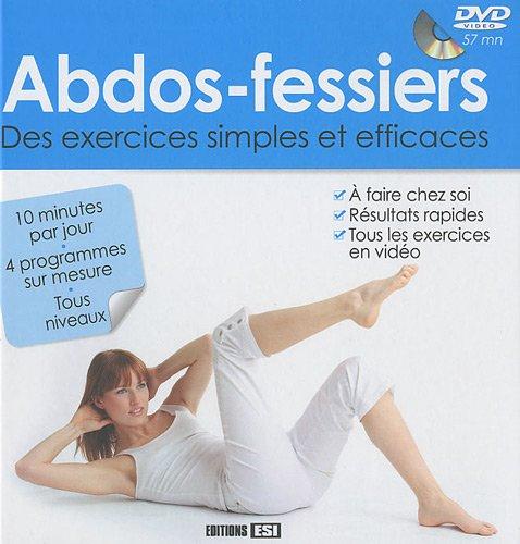 Abdos-fessiers : Des exercices simples et efficaces (1DVD)