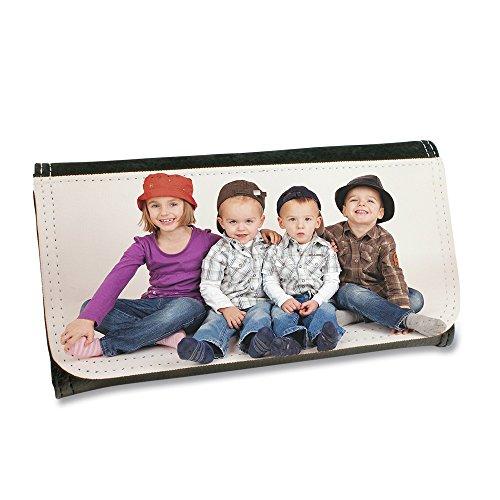 DAMEN Geldtasche, Geldbörse mit individuellem Fotodruck