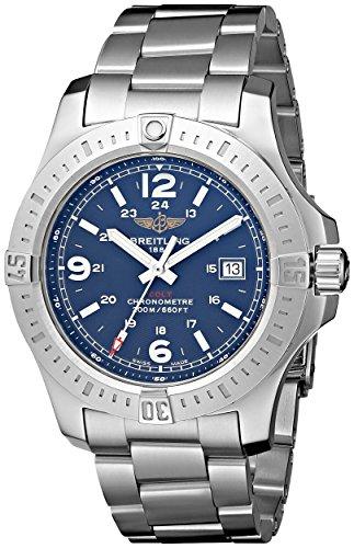 Breitling Colt A7438811-C907SS - Reloj para hombre, acero inoxidable, esfera de color azul
