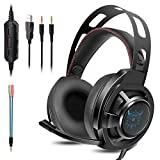 Best Gaming Headset wirelesses - KOTION EACH Auriculares Bluetooth Wireless Headset B3506 Plegable Review