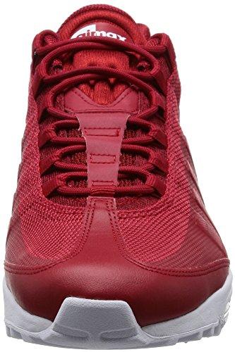 Precio Barato Al Por Mayor Nike Air Max 95Ultra Essential Sneaker Scarpe per Uomo Rot (Gym Red/White) Comprar Barato Muy Barato aKfw1v5zm