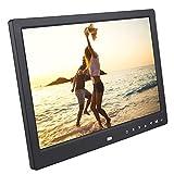 Marco de fotos digital,12'' LED 1280x800 HD 32GB Marco de fotos electrónico Escritorio Álbum...