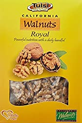 Walnuts are rich in B- complex Vitamin , Vitamin - E , Potassium , Magnesium , Calcium , Phosphorous & Iron . Nuts offers vegetarian an abundance of nutrients , although they contains a heavy number calories.