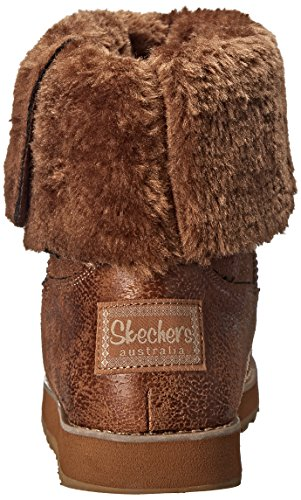 Skechers - Keepsakes Leather-esque, Stivali Donna Chestnut