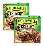 Nature Valley Crunchy Barres Croquantes au Chocolat Noir Sans Colorants Ni Conservateurs Naturellement Sans Lactose Convient Aux Végétariens - 2 x 210 Gram (2 x 10 Barres)