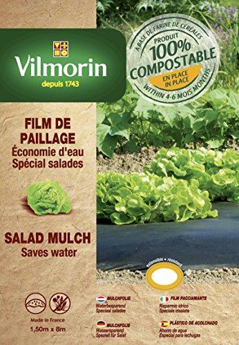 Vilmorin VH06060 Film de Paillage pour Salades Farine de Céréales 20 mm 1,50 x 8 m