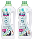 Impresan Hygiene-Spüler Aktiv - 2 x 1,25L - Wäsche-Desinfektion - Desinfektionsspüler - besonders geeignet für Sportkleidung aus Funktionsfasern oder Synthetics - 2 x 15 Waschladungen