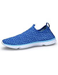 Kenswalk Escapines de Malla Para Hombre, Color Azul, Talla 46 EU