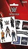Le Catch Paquet De Tatouages - WWE, Logos Et Superstars, 11 Tattoos (17 x 10 cm)