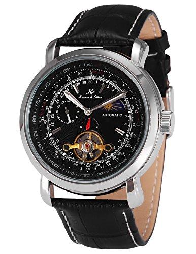 KS Kronen & Söhne Automatikuhr Mechanische Armbanduhr Herrenuhr Automatik Mechanik Uhr KS068