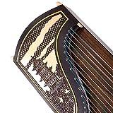 GuanXiao Chinesisches Guzheng-Massivholz-afrikanisches Sandelholz, das die Berufsklassifizierung spielt Zither-Beschriftungszither-nationales Orchesterinstrument
