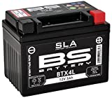 Xfight-Parts 0.537.889-8 Batterie BTX4L 12V 3Ah SLA DIN 50314 Versiegelt (FA) 113x85x70mm