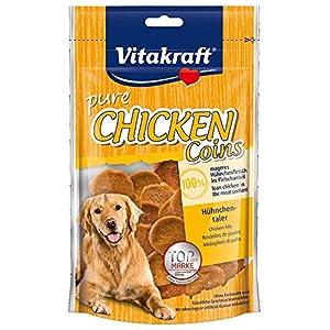 Vitakraft Chicken Rondelles Poulet Friandise pour Chien 80 g