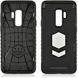 Samsung Galaxy S9 Plus Case, Hybrid Shockproof Slim Codream Cover Fit Scratch Resistant Rubber Bumper Back And Protective For Samsung Galaxy S9 Plus - Black