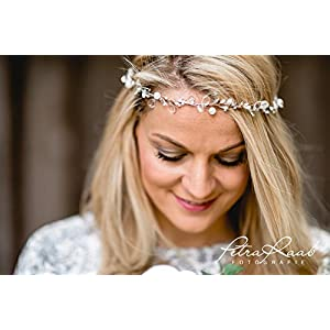GG2 Haarband, Kristallband, Diadem, Haarkranz, wedding , Crown, kristallcrown, Hochzeit, Haarschmuck,Perlenband,Headpieces,bridal hairdress
