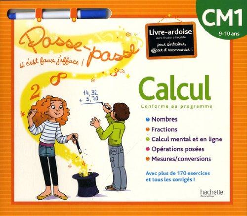 Calcul CM1