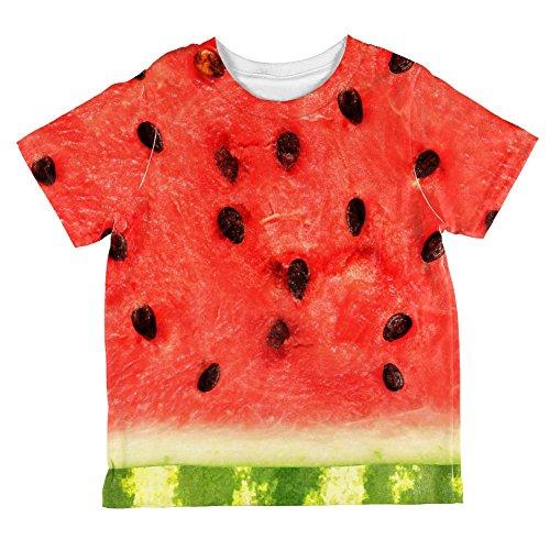 ssermelone ganzen Kleinkind T Shirt Multi 6 t (Halloween-wassermelone)