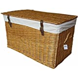 Wicker Storage trunk Extra large 90cm