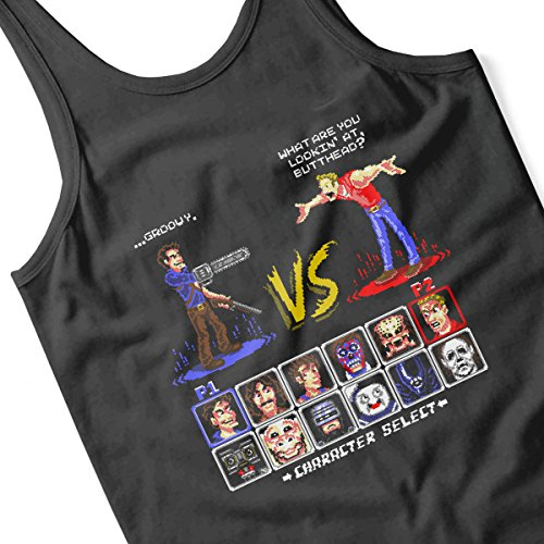 Super 80s Good Vs Evil II Women's Vest Black