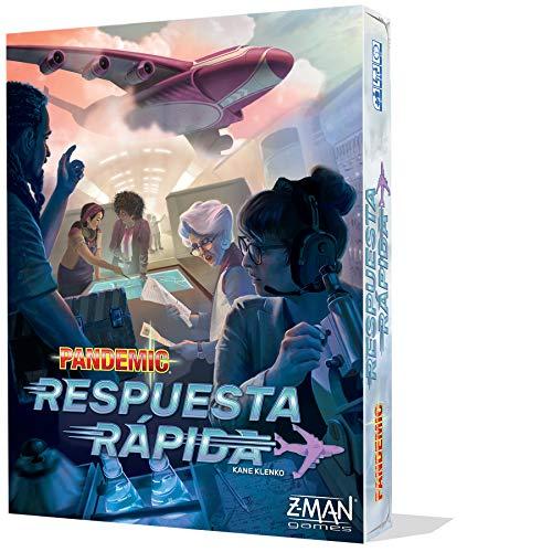 Z-man Games España- Pandemic Respuesta rápida, Color (ZM011ES)