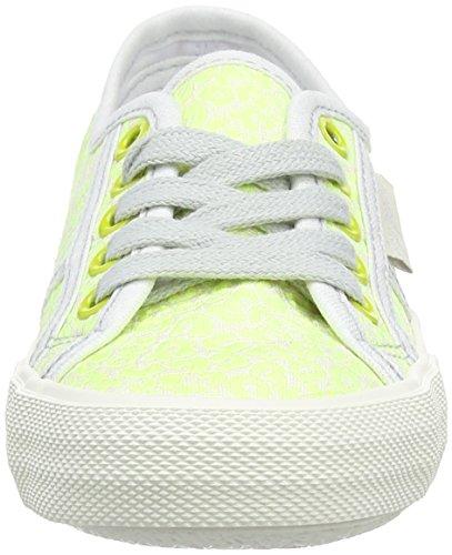 Pepe Jeans Baker Fluor, Baskets Basses Fille Vert - Green (Lima/639)